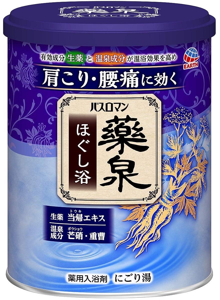 救急車肥満進捗【医薬部外品】バスロマン薬泉 入浴剤 ほぐし浴 [750g]