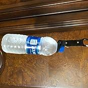 Alivier Botella de Agua de Silicona port/átil Hebilla Conveniente Clip Holder D-Ring Hook Camping Senderismo Viajar