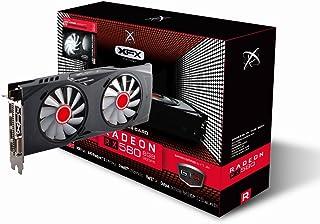 XFX AMD Radeon RX RX-580P8DFWR 8GB Black Edition - Tarjeta gráfica Radeon Express