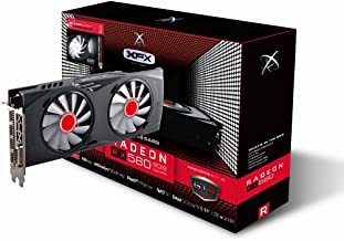 XFX RX-580P8DFWR GTR Radeon RX 580 8GB XXX Edition 1366 Mhz OC, 1386Mz Boost Overclock Graphics Core GDDR5 White LED Hards...