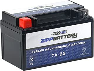 Chrome Battery 7A-BS Battery - High Performance Power Sports, AGM, Factory Sealed, Replacement for Motorcycles