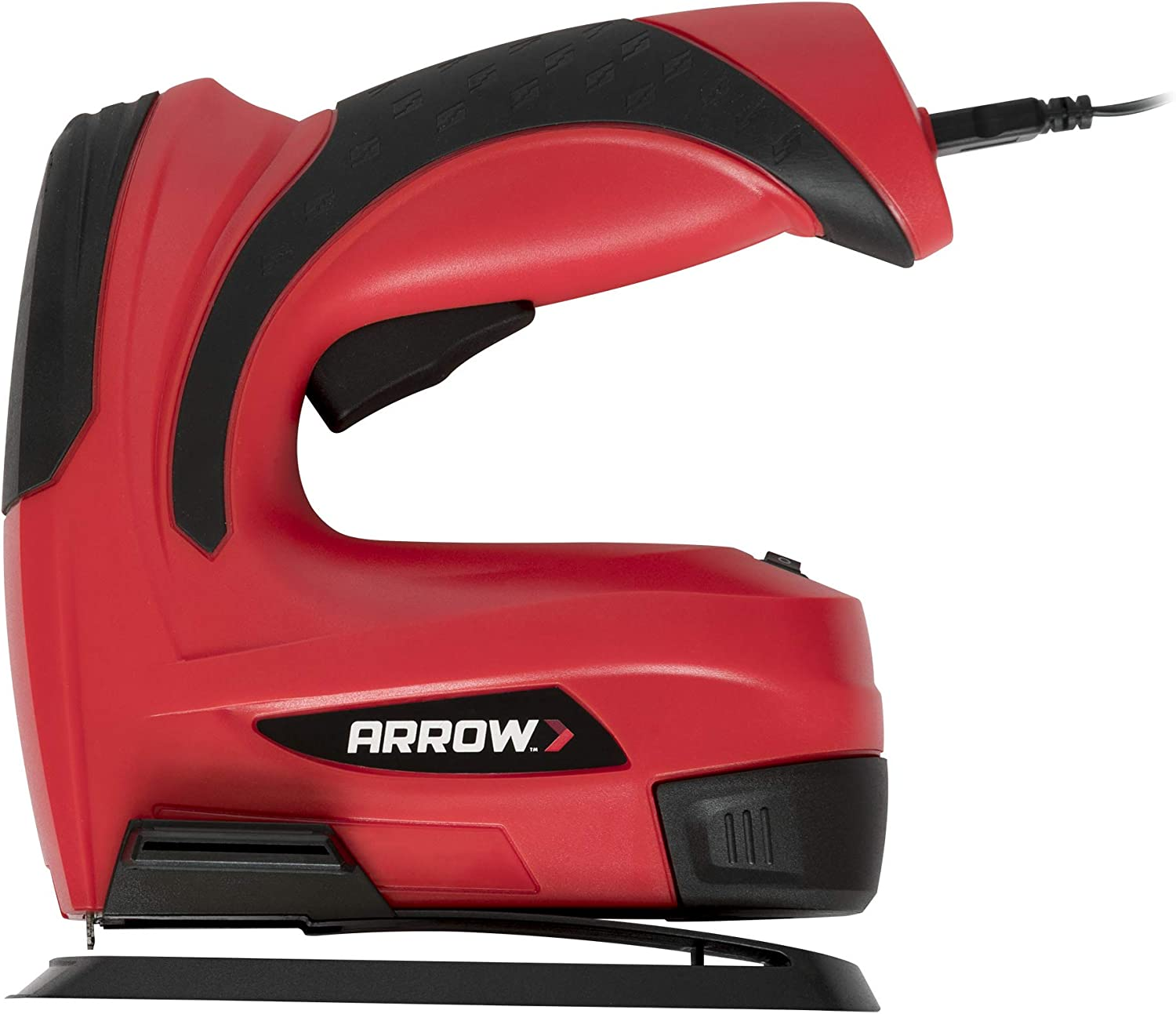 Arrow E21 Cordless Electric Light Duty Staple Gun with Rechargeable Battery