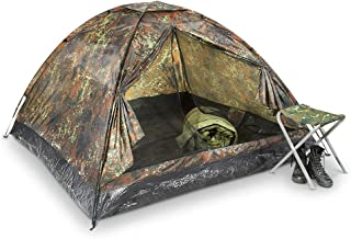 Mil-tec Three Man Flecktarn Igloo Tent - Standard