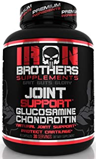 Joint Support Supplement - 1500mg Glucosamine Chondroitin with MSM & Turmeric | Anti Inflammatory Pain Relief | Formula fo...