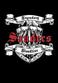 Sanders Legendary Bloodline: Notebook