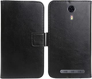 Gukas Color Design PU Wallet Flip Leather with Card Slots Cover Skin Protection Case Shell for NUU A3 5
