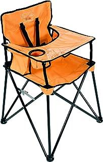 ciao baby portable high chair orange