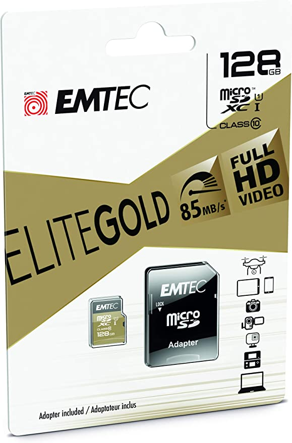 Emtec Ecmsdm64gxc10 Elitegold 64gb Microsdxc Computer Zubehör