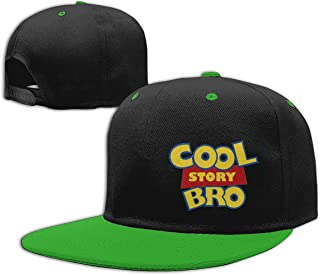 Eyscar Women's&Mens Cool Story Bro Unisex Comfortable Baseball Cap Adjustable Strapback