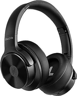 OneOdio A30 ワイヤレスヘッドホンノイズキャンセリング ハイブリッド オーバーイヤーヘッドホン Bluetooth ヘッドフォン AAC対応 密閉型 有線 無線