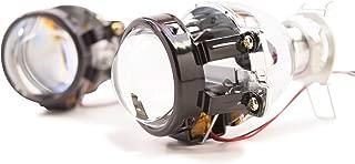 Bi-Xenon Morimoto Matchbox high beam/low beam Retrofit Projector (Pair) with Micro Gatling Shrouds TRS-S100