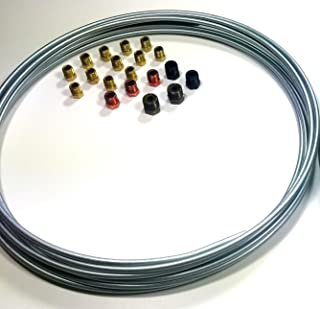 25 ft 3/16 Brake Line Kit - Steel Roll WITH Fittings