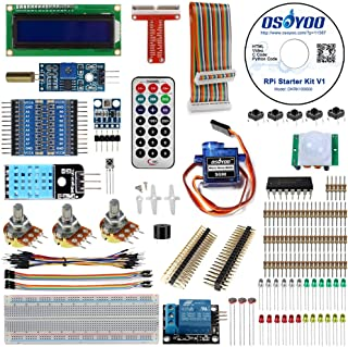 OSOYOO Raspberry Pi 3 3B+ Zero W DIY Basic Starter learning Kit 2019 Updated for Beginners with tutorial