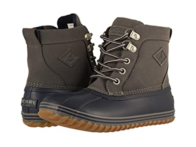 Sperry Kids Bowline Boot (Little Kid/Big Kid) (Navy/Grey) Boy