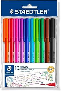 Staedtler Ballpoint Stick Pens, 43235MWP10TH