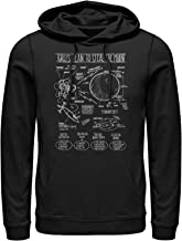 Despicable Me Men's Gru Plans to Steal Moon Hoodie
