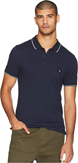 Short Sleeve Patch Logo Daddy Polo
