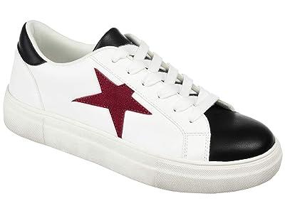 Journee Collection Comfort Foamtm Adair Sneaker (Wine) Women