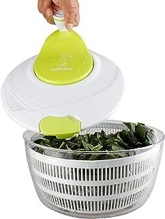 Redlemon Centrifugadora de Ensalada, Escurridora de Verdura y Secadora de Lechuga tipo Salad Spinner con Colador Integrado...