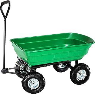 Sponsored Ad – Draper DRA58553 Garden Tipper Cart - Green, 22.0 cm*96.0 cm*51.0 cm