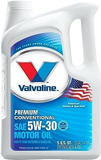 Valvoline Premium Conventional 5W-30 Motor Oil - 5qt (Case of 3) (779461-3PK)
