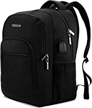 Travel Backpack With USB Charging Port, Waterproof Multi-Pocket Laptop Bags, College Computer Back Packs Fits 15.6-inch No...