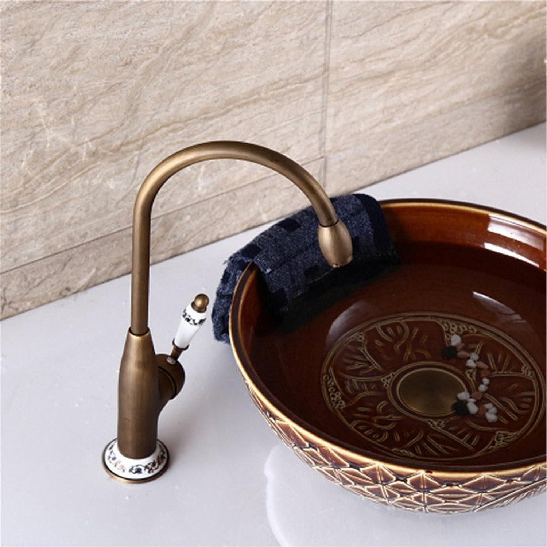 Bijjaladeva Antique Bathroom Sink Vessel Faucet Basin Mixer Tap The fine for kitchen sink faucet antique style furniture surface basin Faucet