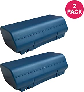 Crucial Vacuum Replacement Battery Compatible with iRobot Roomba Part 14904 and 5900, 14.4v, 3500mAh Battery Fits Scooba 400 4000 6000 Series, Long Lasting & Rechargeable, Bulk (2 Pack)