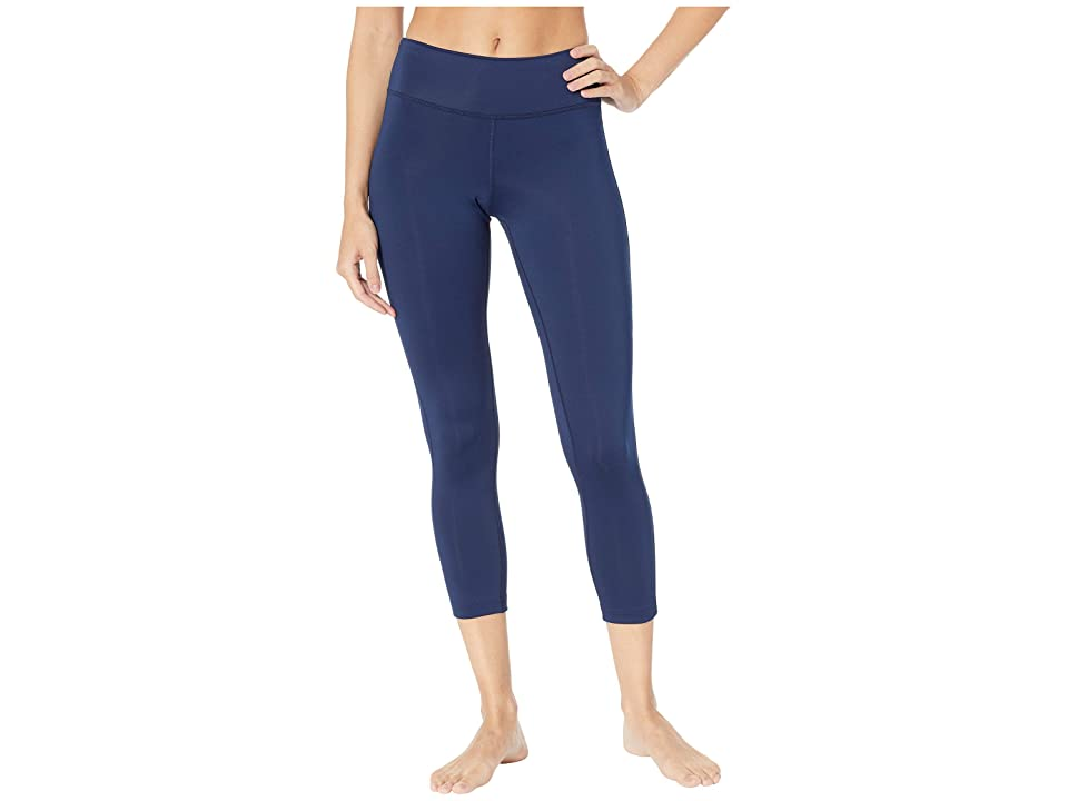 Reebok Workout Ready 7/8 Tights (Collegiate Navy/Collegiate Navy) Women