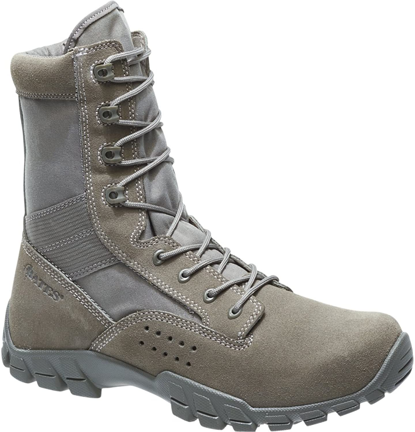 Bates 22682 Mens Cobra 8  Sage Side Zip Hot Weather Jungle Boot 11.5D (M) US