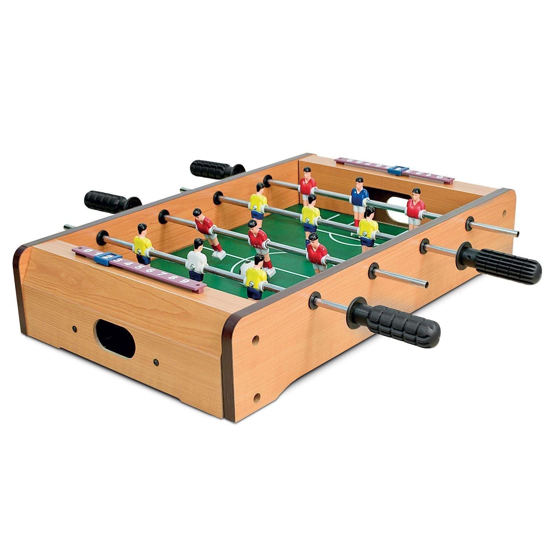 Generic.. Op Mini Footb Deluxe tablero de la mesa XE Tab pelota de futbolín de mesa