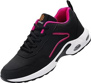 Fenlern Chaussure de Securite Homme Femme Legere Respirant Baskets de Sécurité Embout Acier Chaussures de Travail