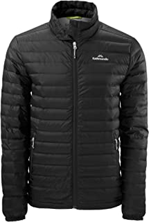Kathmandu Heli Men's Lightweight Duck Down Coat Warm Puffer Jacket v2
