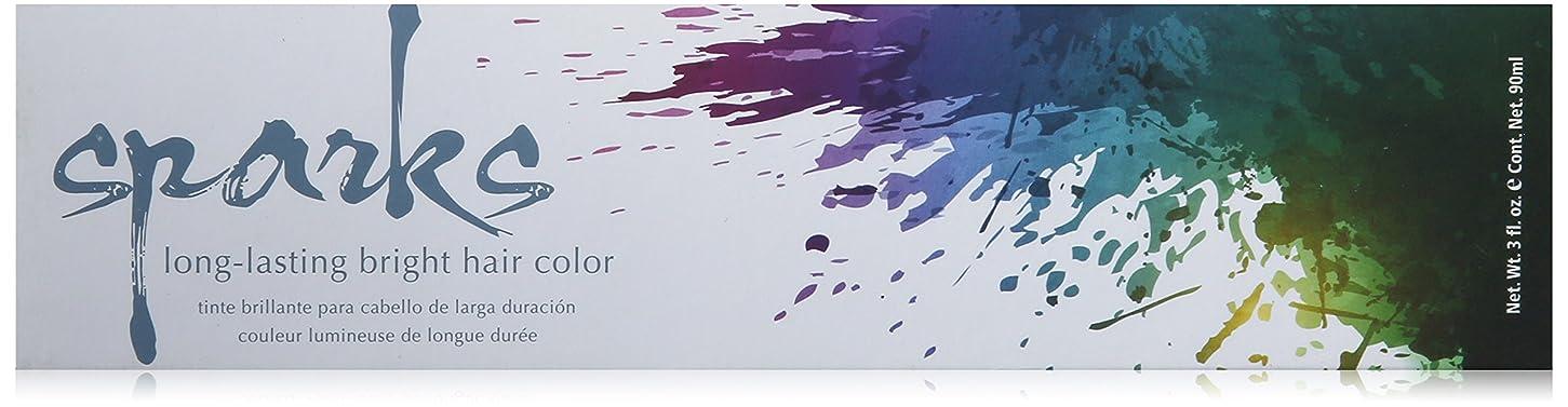 印象派謙虚トレーニングSPARKS ロング明るいヘアカラーラスティングスパークス、3オンス サンバーストイエロー