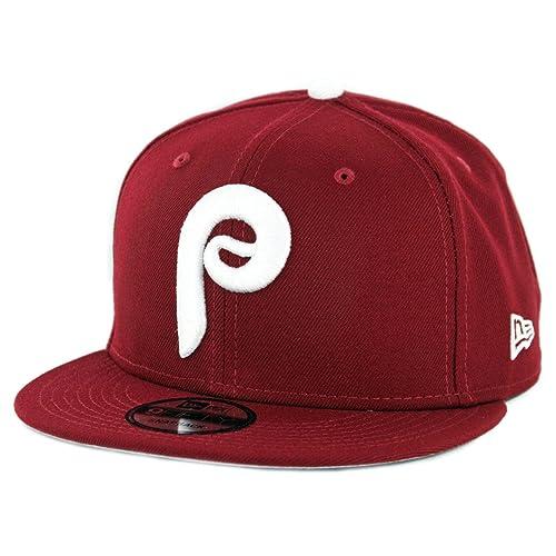 save off b8060 deb70 New Era 950 Philadelphia Phillies Basic Snapback Hat (Cardinal) Men s MLB  Cap