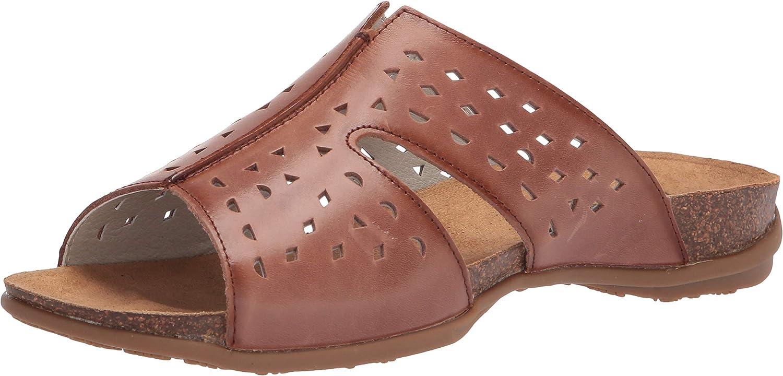 Propet Women's Fionna Slide Sandal, Brown, 7 XX-Wide