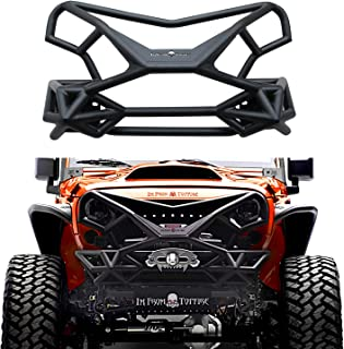 TOPFIRE Front Bumper Wilder Fury Full-Width for Jeep Wrangler JK/JKU 2007-2018 2door/4door and JK Unlimited