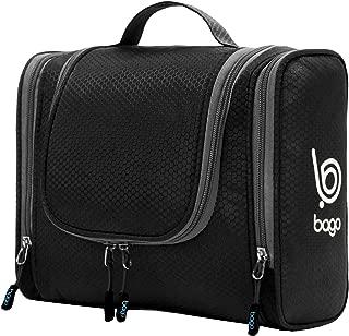 Bago Hanging Toiletry Bag For Women & Men – Leak Proof Travel Bags for..