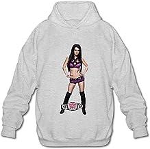 KEIKO WWE Paige Sudaderas con Capucha para Hombre