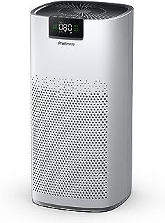 Pro Breeze Purificatore d'Aria Ultra Potente CADR 518 m³/h (140 m²/1500 ft²), Luce di Pulizia UV, Ionizzatore, filtro HEPA...