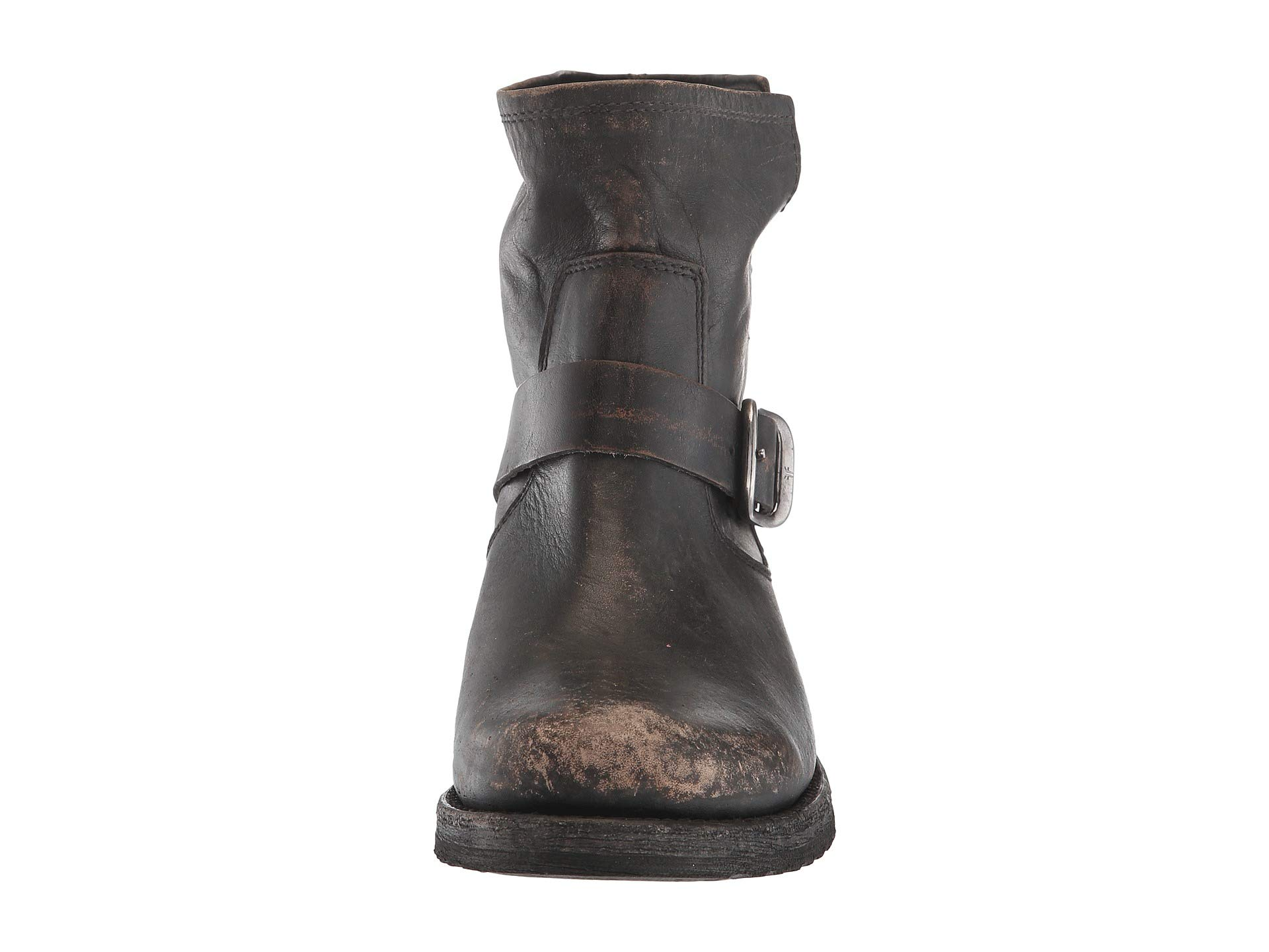 Grain Frye Veronica off Bootie Brush Black Full IWvZq