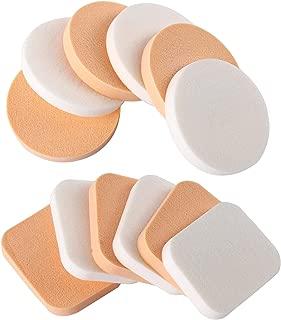 12pcs Soft Sponge Flawless Facial Foundation Powder Puff Beauty Makeup Cosmetics