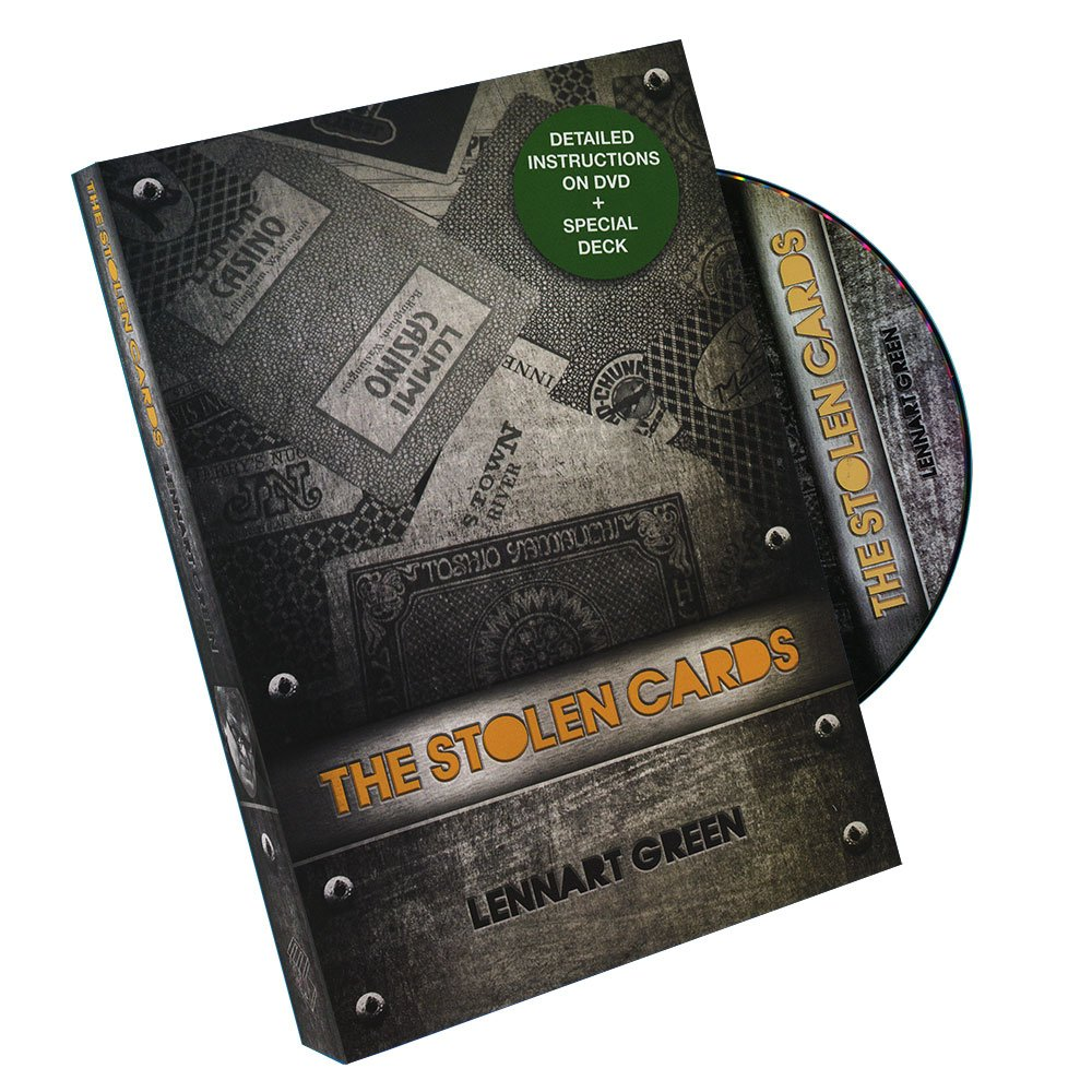 Murphy's Magic The Stolen Cards (DVD and Deck) by Lennart Green and Luis De Matos