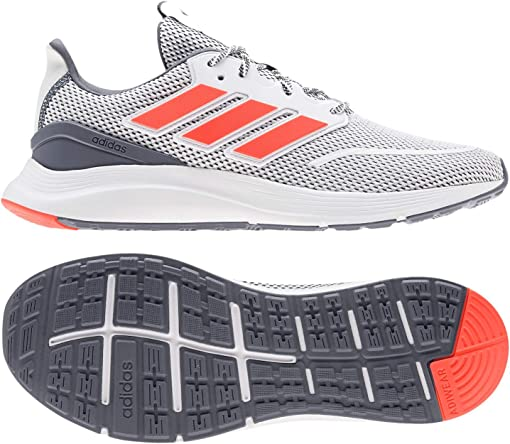 Footwear White/Solar Red/Onix