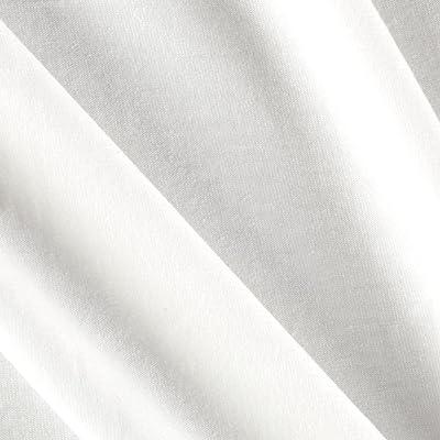 a38f1cd6ebd Robert Kaufman Kaufman Laguna Stretch Cotton Jersey Knit White Fabric by The  Yard,