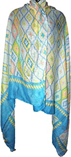 Highwaypay Lightweight Scarves: Fashion Print Shawl Wrap For Women