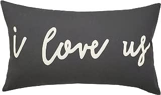 EURASIA DECOR DecorHouzz I Love us Appliqued Decorative Cushion Cover Pillow Cases Cover Standard Throw Pillow Case Couple Wedding Love Gift 14