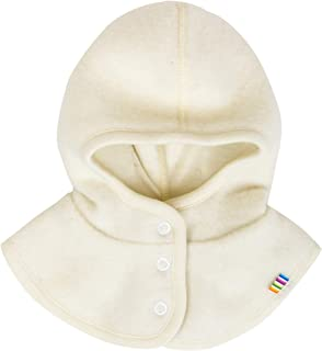 Joha Baby Kinder Unisex Schalmütze aufknöpfbar Balaclava Merino-Wolle