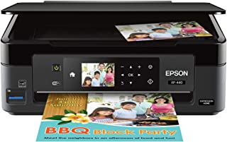 Epson Expression Home XP-440 Wireless Color Photo Printer with Scanner and Copier
