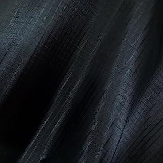 "emma kites Black Ripstop Nylon Fabric 1.4Oz yd² 60""x36""(WxL) 40 Denier Water Repellent Dustproof Airtight PU Coating for K..."